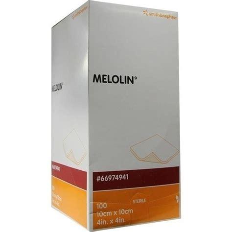 Melolin 10x10 melolin 10x10 cm wundauflagen steril 100st bodfeld apotheke