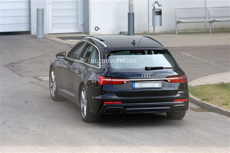 Audi S6 2020 by 2020 Audi S6 Avant Spied With No Camo Looks