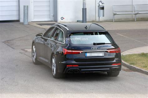 Audi Avant 2020 by 2020 Audi S6 Avant Spied With No Camo Looks