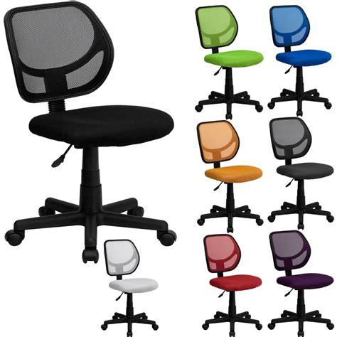 best mid back mesh task desk computer office chair swivel