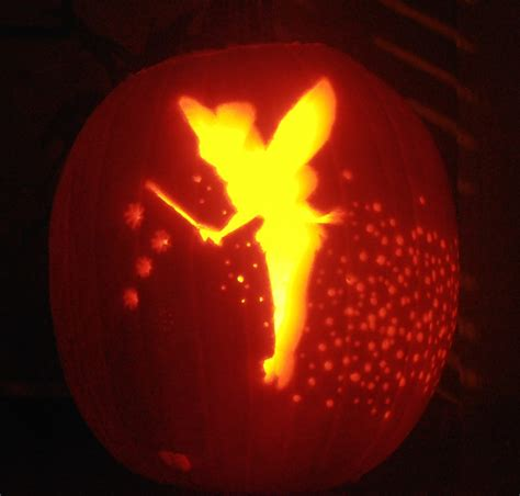 disney tinkerbell pumpkin carving patterns www imgkid