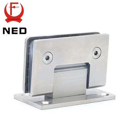 High Quality Ned 4913 90 Degree Open 304 Stainless Steel Glass Shower Door Hinges