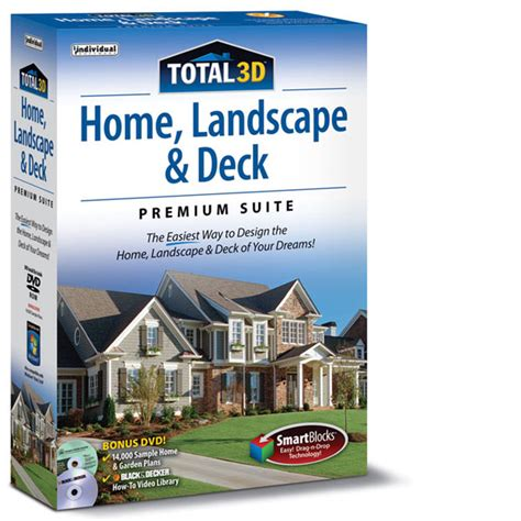 3d home design and landscape software total 3d home landscape deck premium individual software