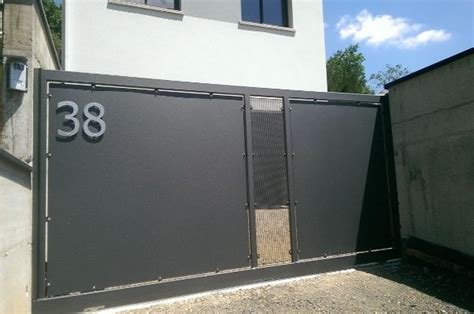 Deco Mur Exterieur 2861 by Les 25 Meilleures Id 233 Es De La Cat 233 Gorie Portail Coulissant