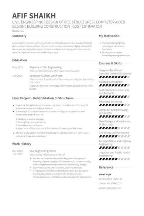 resume exle for civil engineering student 8 best 30 resume template exle curriculum vitae images on curriculum resume