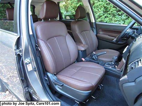Subaru Forester Leather Interior by 2017 Subaru Forester Interior Photos