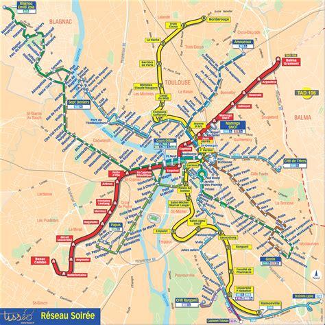map of toulouse metro map of toulouse metro maps of planetolog