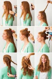 how to do a comb with curly hair hair hacks 3 foolproof ways to make waves brit co