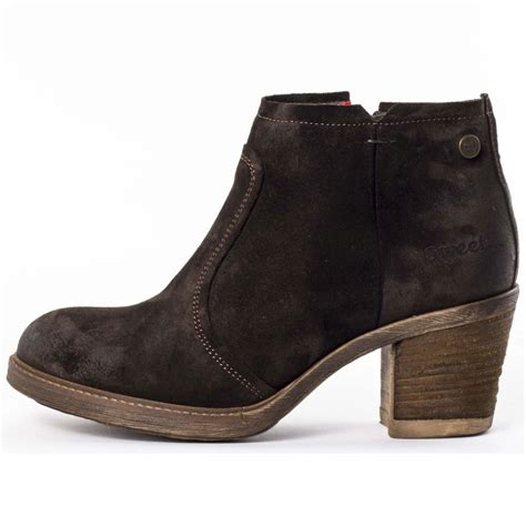 sweet eastwood womens ankle boots in brown