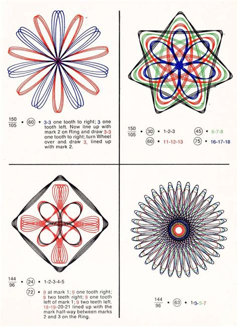 spirograph pattern booklet 309 best patterns polyhedra images on pinterest