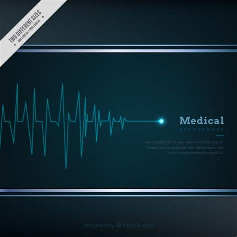 cardiogram background vector free