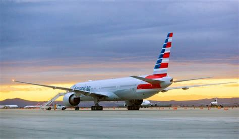 Delta Airlines Background Check Photos Boeing 777 300er In New American Airlines Livery Airlinereporter