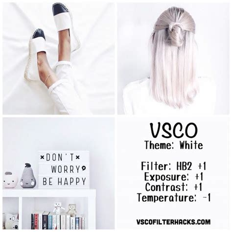 tutorial vsco white best 19 white theme instagram feed vsco cam filter