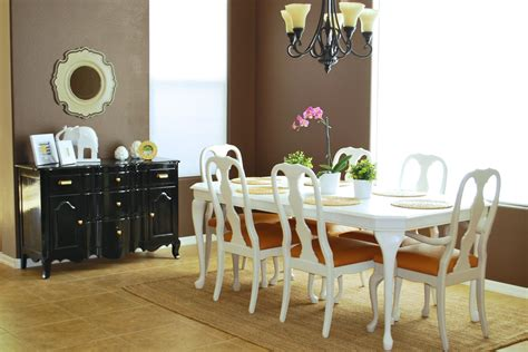 remodelaholic an changing dining room remodelaholic refinished dining room table and chair re