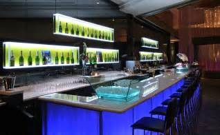 Commercial bar floor lighting eelectric lighting