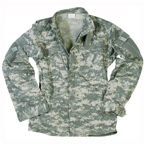 Acu Camo by Acu Nyco Ripstop Army Tactical Mens Shirt Sleeve Ucp