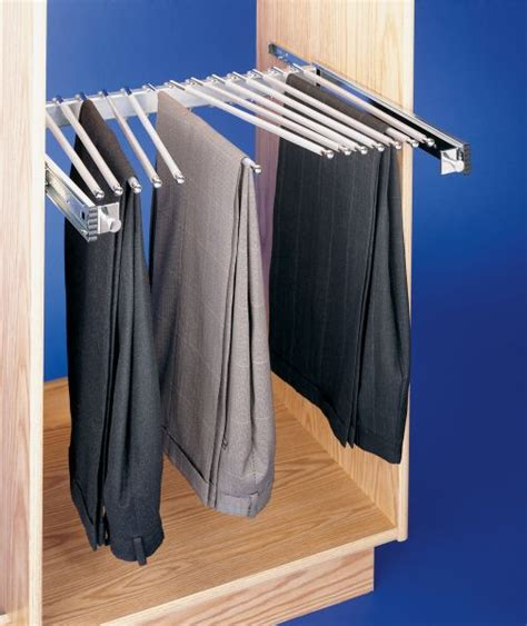 Pull Out Rack by Pull Out Pant Rack 13 Capacity Psc 2414cr Rev A Shelf