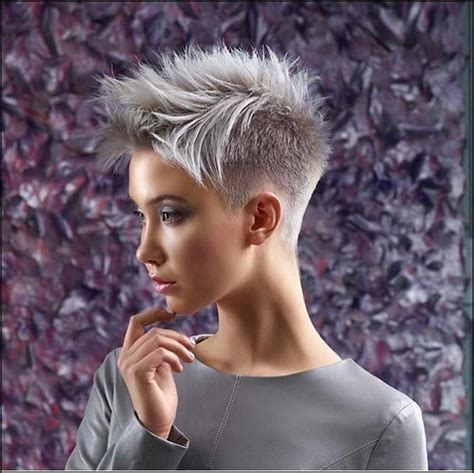 trendy neue sehr kurze frisuren super short hair pixie
