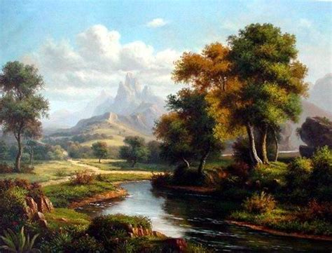 Landscape Pictures To Paint In Oils Beautiful Paintings Add To Your Home