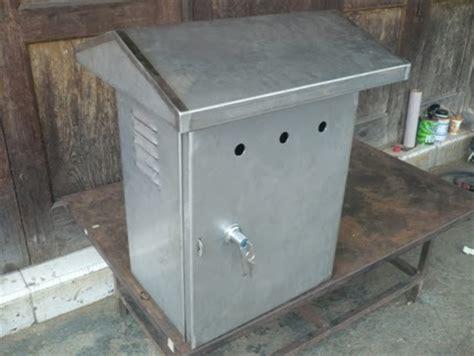 Box Listrik Outdoor Fabrikasi Stainless Steel Box Panel Listrik