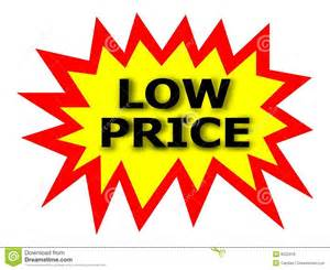 Price On A Low Price Tag Royalty Free Stock Image Image 6522416
