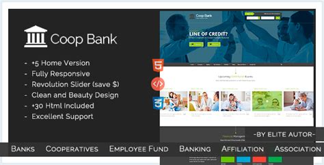 bootstrap templates for banking coopbank banking financial credits template by
