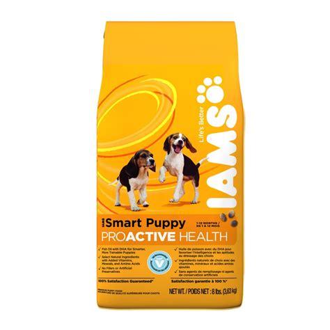 iams smart puppy iams proactive health smart puppy food chaar