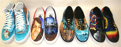 Vans Design Contest Winners | dos pueblos reaches semi finals of vans shoe design contest