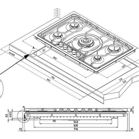 misure piano cottura aeg electrolux elettrodomestico 85551 piano cottura