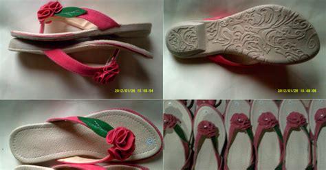 sandal jepit wanita keteplek bunga jepit harga grosir murah grosir sandal sepatu murah