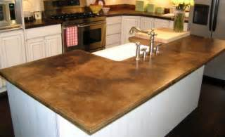 concrete countertops brown concrete countertop