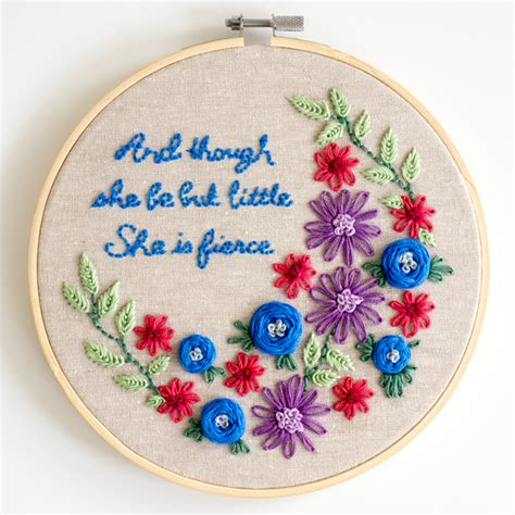 Embroidery Pattern Ideas | learn how to embroider simple but pretty designs dabbles