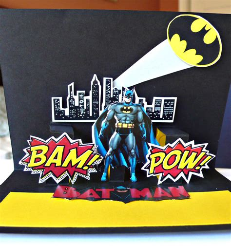 superhero birthday card template alanarasbach com