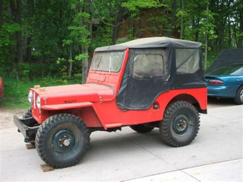 Willys Jeep For Sale Michigan Find Used 1946 Willys Jeep Cj2a In Negaunee Michigan