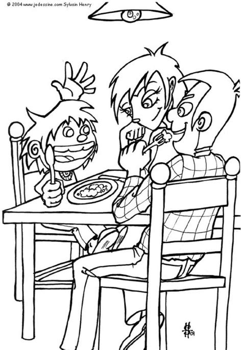 school lunch coloring page school life coloring pages lunch time