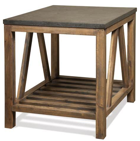 value city end tables riverside furniture weatherford rectangular end table
