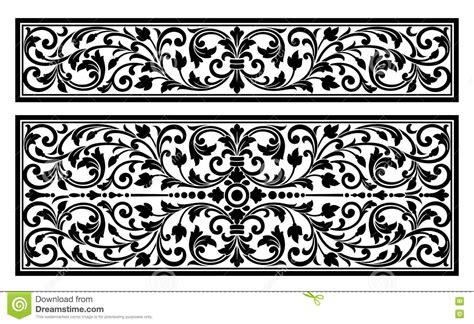 engraving logo vector vintage border frame logo engraving with retro