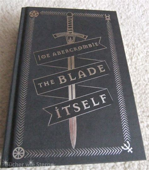 the blade itself collectors hey joe it s a grimdark collection indeed b 252 cher wie sterne