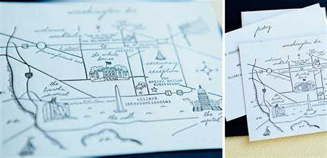 how to make a map for wedding invitation free letterpress map of washington d c for wedding tiny pine press