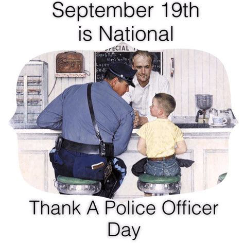 National Thank A Officer Day by Montebello Athletic Activities League Paal
