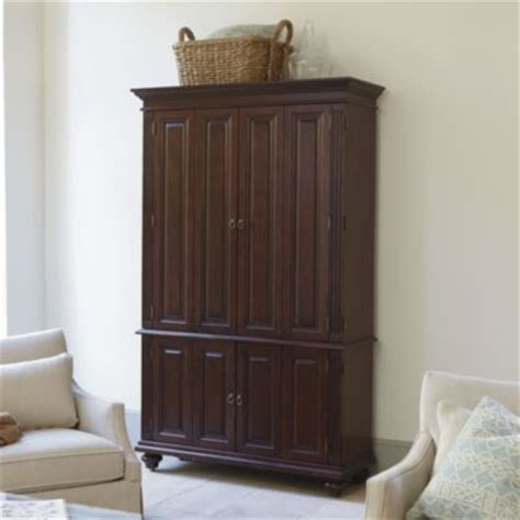 Shallow Depth Armoire i like the shallow depth of this armoire 81 1 4 quot h x 50 quot w x 18 quot d slim chadwick media armoire