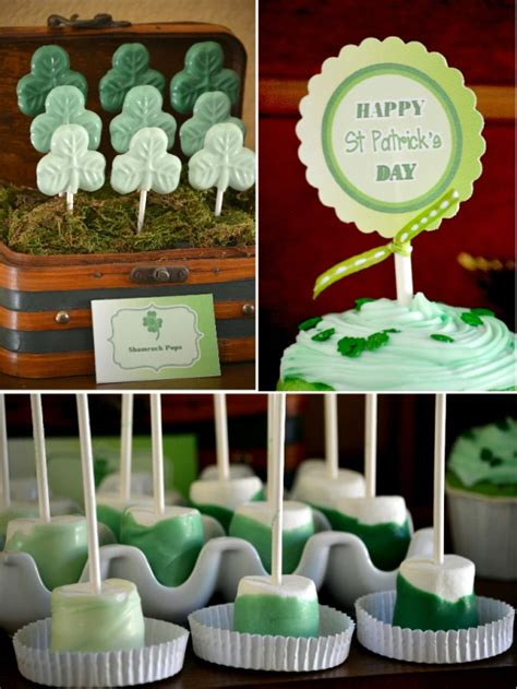 party themes green st patrick s day green ombre party free printables