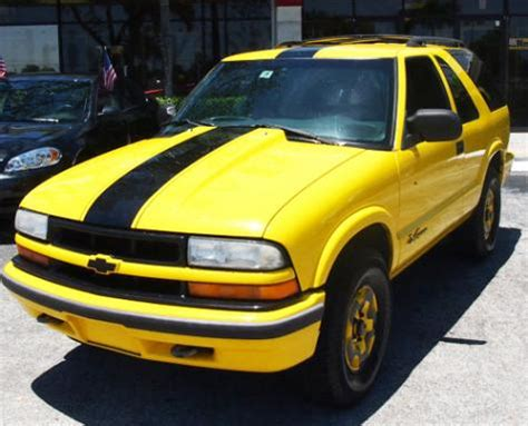 yellow blazer suv with pictures mitula cars