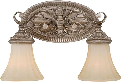 french bathroom light fixtures vaxcel w0155 avenant traditional french bronze 2 light