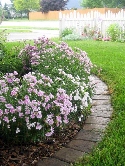 edging a flower bed front garden3 jpg 1 200 215 1 600 pixels garden ideas