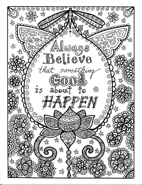 17 Best Images About Kleurplaten Spreuken On Pinterest Inspirational Coloring Pages For Adults