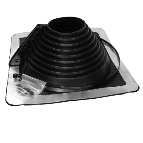 Oatey Retro Master Flash 4 in.   9.25 in. Roof Flashing