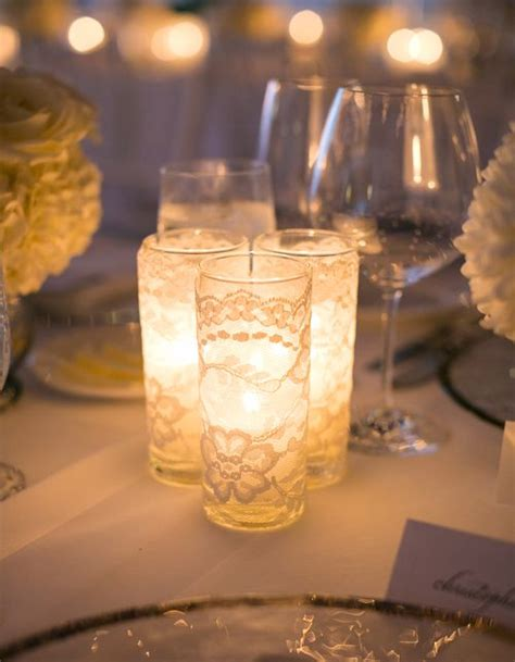 candle centerpieces for home 163 best images about led wedding decor on pinterest