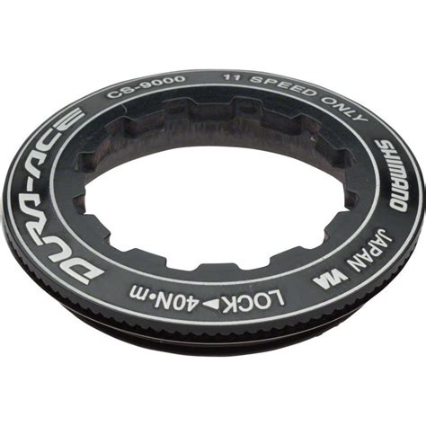 shimano dura ace 11 speed cassette shimano dura ace 9000 11 speed cassette lockring ebay