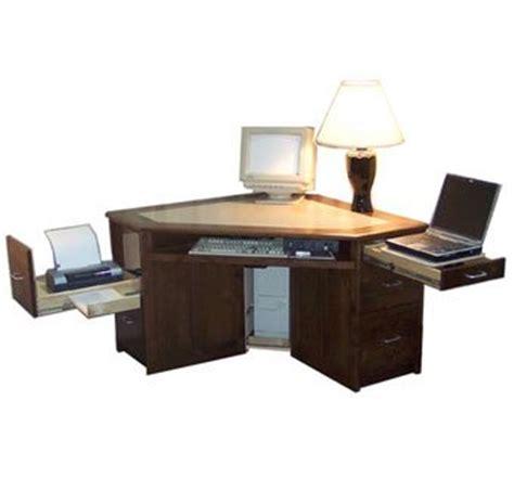 hardwood computer desk made hardwood corner desk for laptop computer by pat morrison craftsman custommade